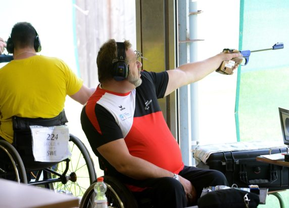 2014 IPC Shooting World Championships in Suhl  24.07.2014 Competitions R8 50m Rifle 3 Positions Women SH1