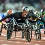 Marcel Hug (Neuenkirch/LU), Wettkampfklasse T54, Goldmedaille über 1500m, Schweizer Behindertensport, Swiss Paralympic