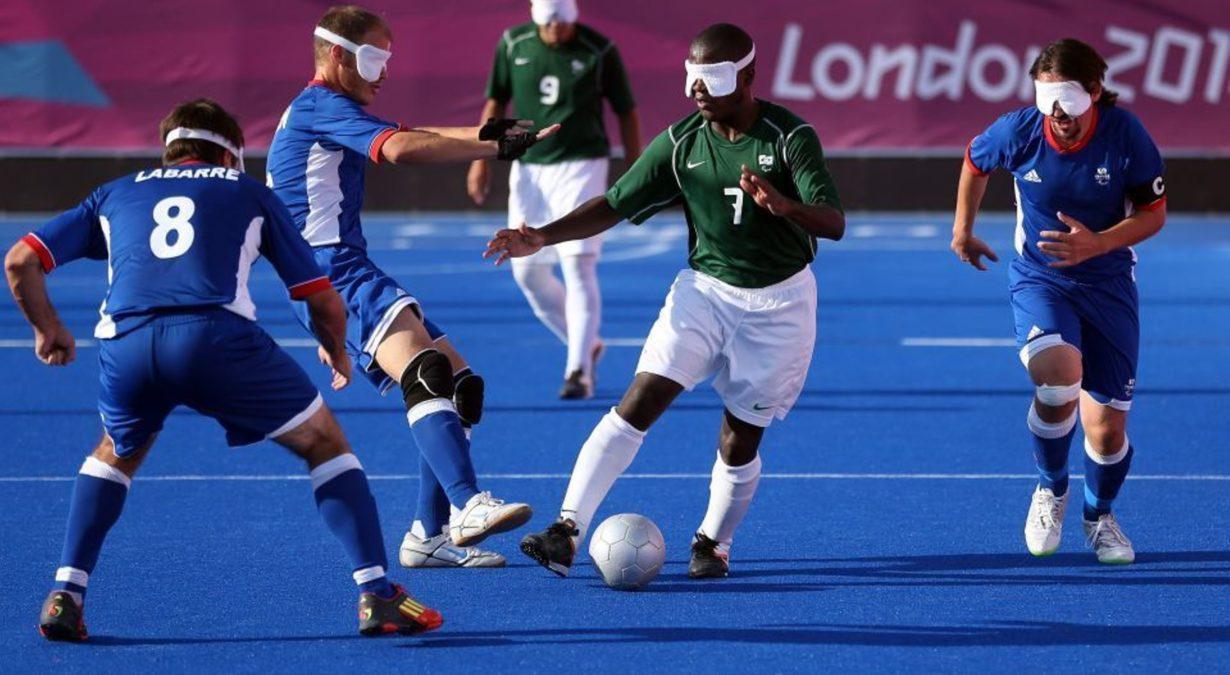 Paralympics Fußball