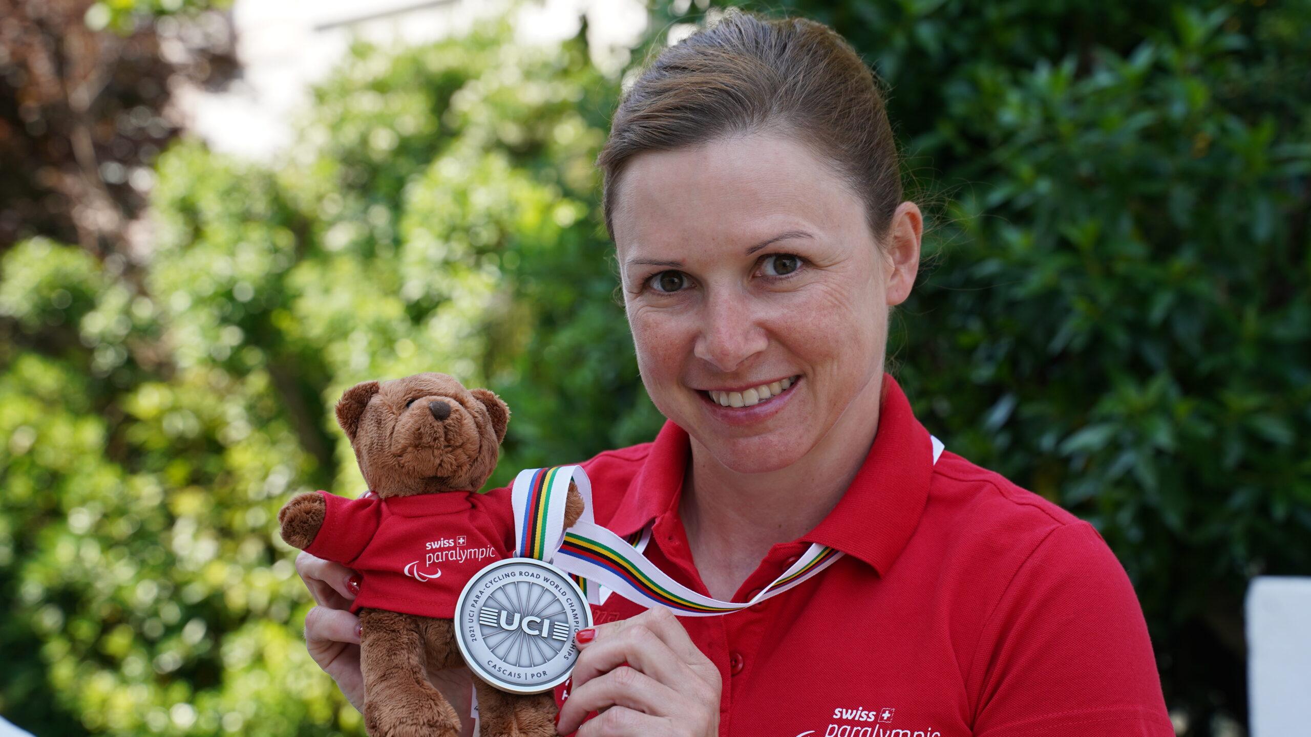 Para-Bear Sandra Stöckli WM 2021